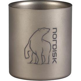 Nordisk Mug titane - Gourde - Double-Wall 220ml argent